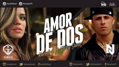 Karol G Nicky Jam Amor De Dos