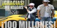 100 Millones de Visitas Para Me Niegas de Baby Rasta y Gringo